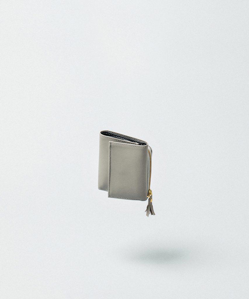 Bicolor Tri-fold Wallet