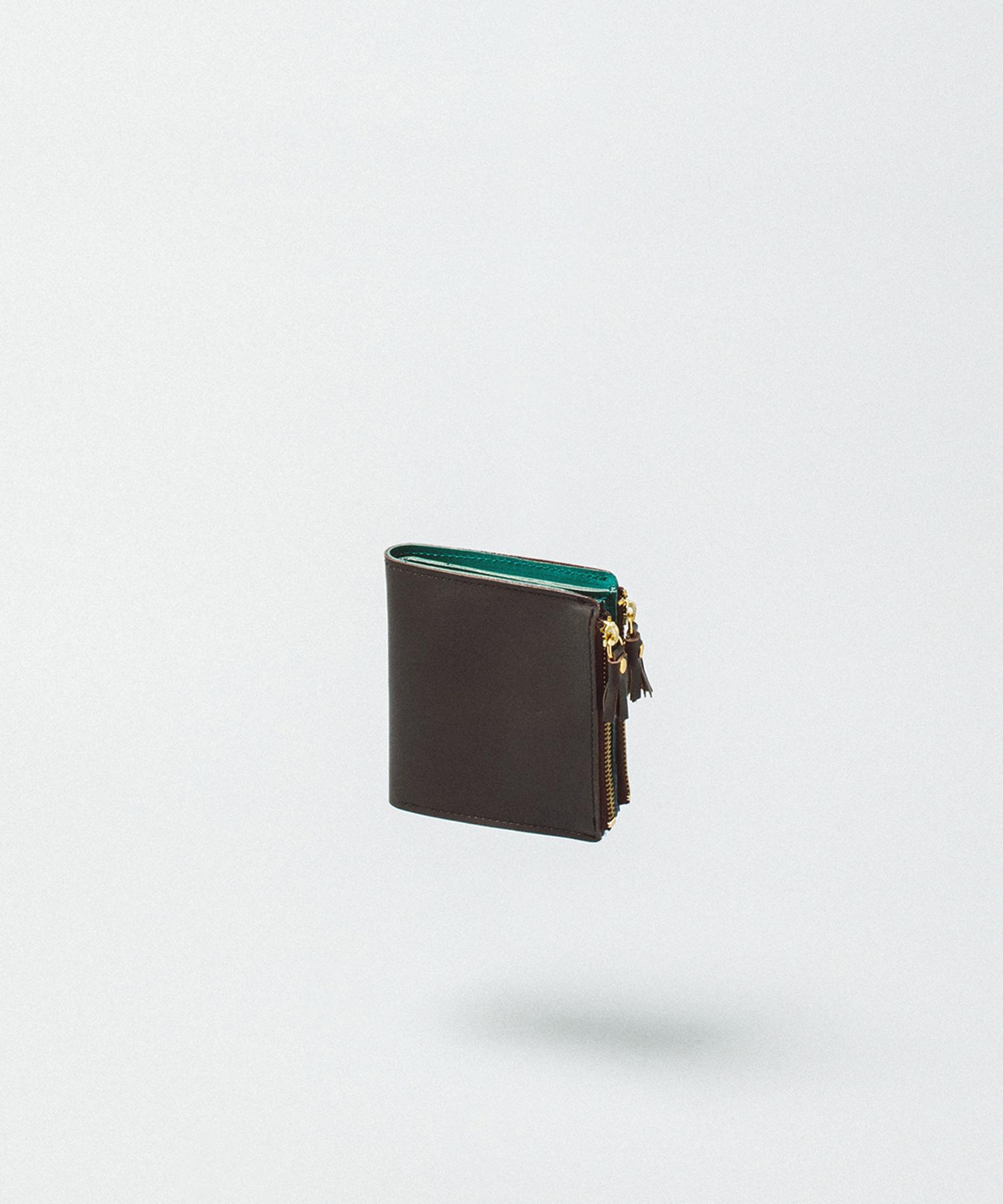 Bicolor Flip Wallet