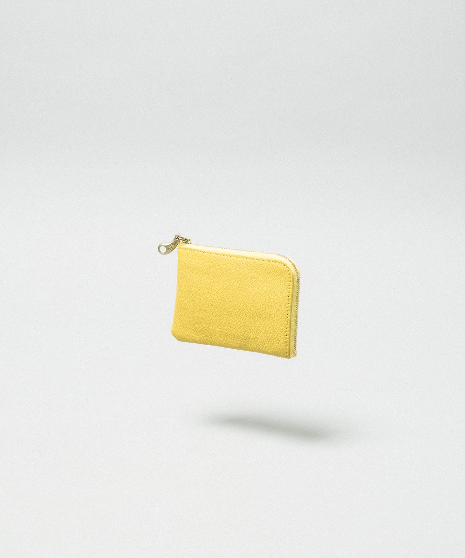 L Zip Slim Mini Wallet